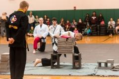 Martial Arts Concrete Breaking Attempt