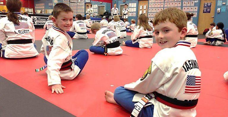 Olsons Martial Arts class