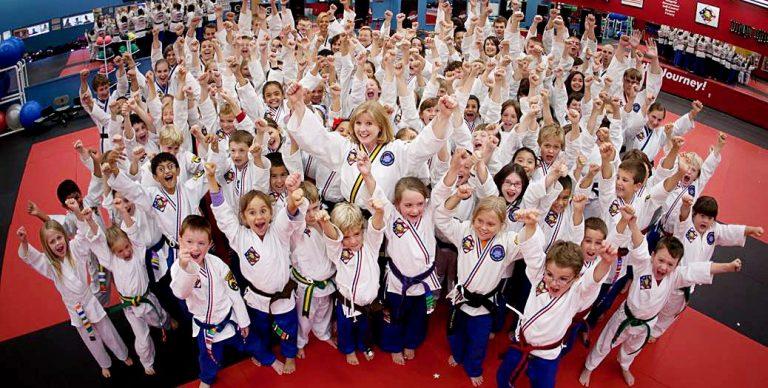 Confident Karate Kids